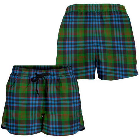 ScottishShop Newlands Of Lauriston Tartan Shorts For Women