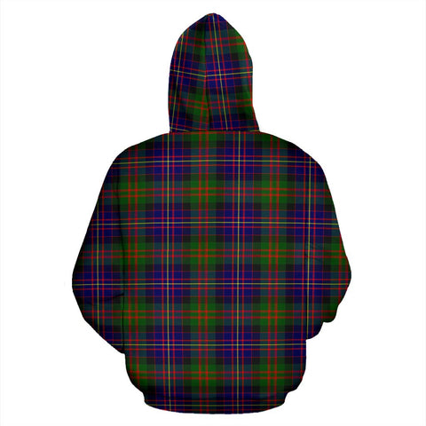ScottishShop Chalmers Tartan Clan Badge Hoodie