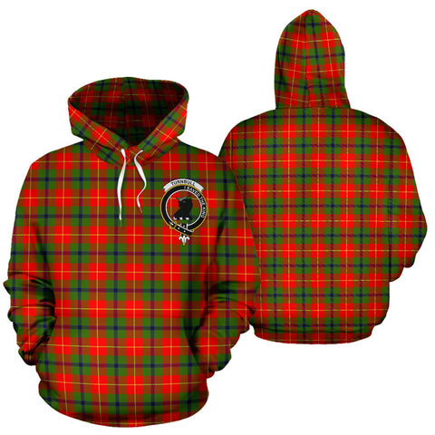 ScottishShop Turnbull Tartan Clan Badge Hoodie