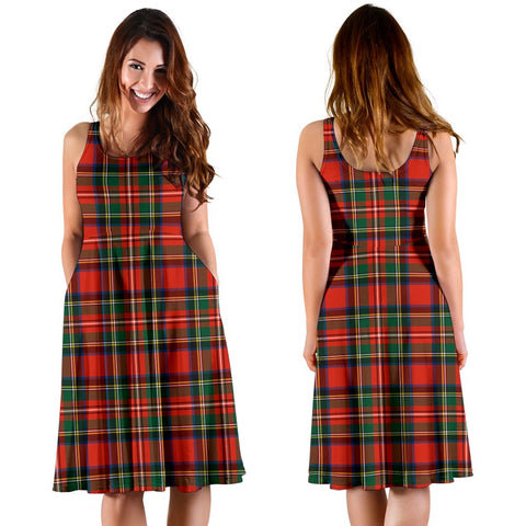 Image of Stewart Royal Modern Plaid Women's Dress