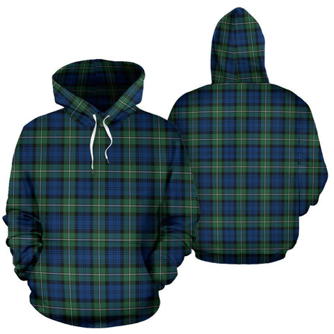Image of ScottishShop Forbes Ancient Tartan Hoodie