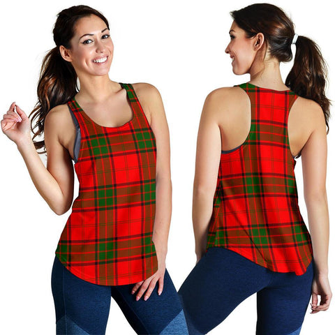 Image of ScottishShop Maxwell Modern Tartan Women Racerback Tank