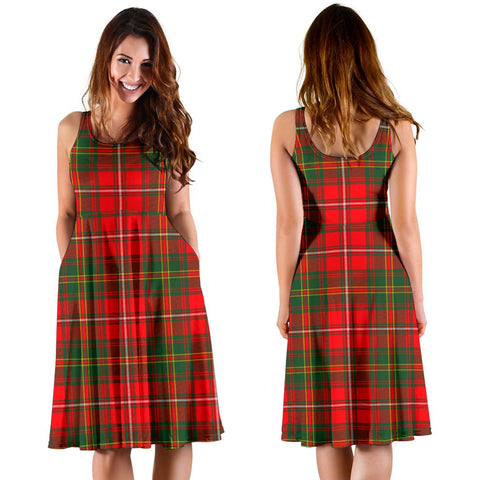 Hay Modern Plaid Women's Dress