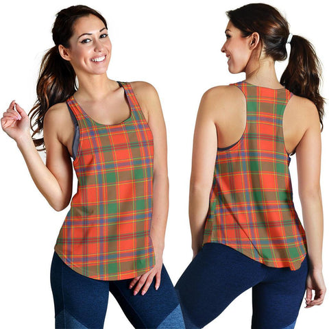 ScottishShop Munro Ancient Tartan Women Racerback Tank