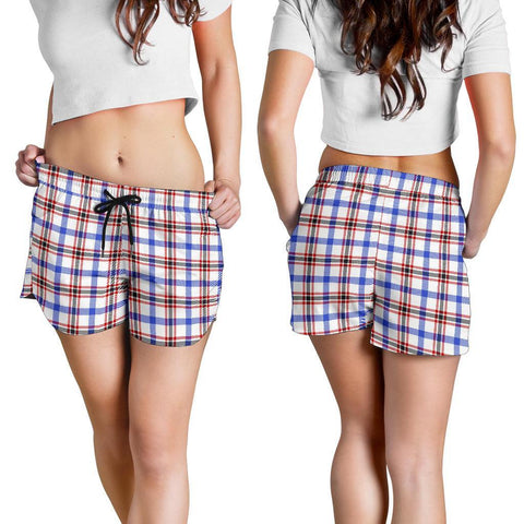 Boswell Modern Tartan Shorts For Women Th8