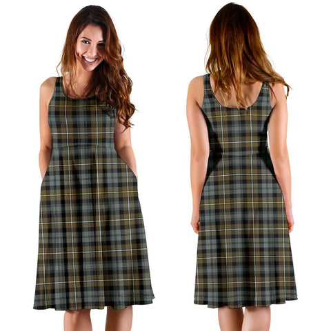 Campbell Argyll Weathered Plaid Women's Dress