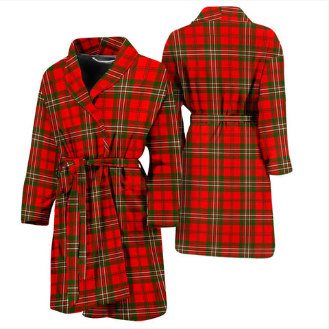 ScottishShop Scott Modern Bathrobe | Men Tartan Plaid Bathrobe