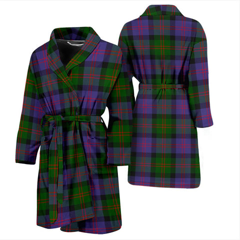 Image of ScottishShop Blair Modern Bathrobe | Men Tartan Plaid Bathrobe