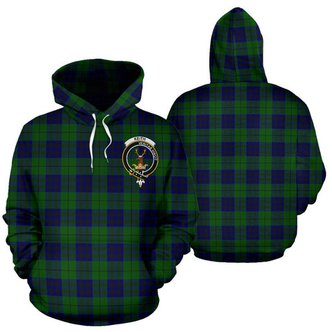 ScottishShop Keith Tartan Clan Badge Hoodie