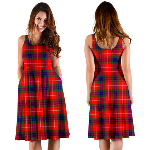 Fraser Modern Plaid Women's Dress
