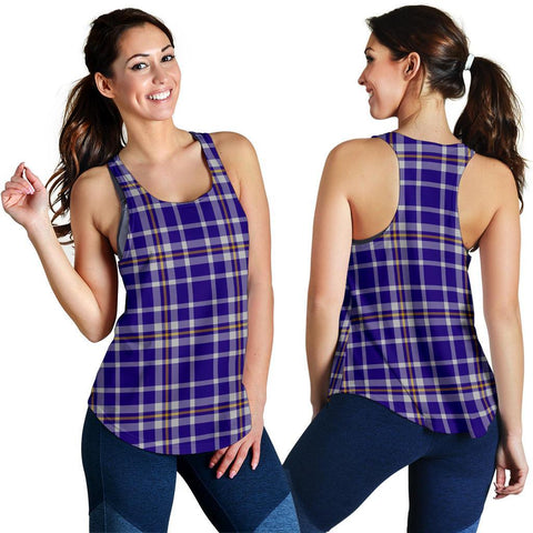 Image of ScottishShop Ochterlony Tartan Women Racerback Tank