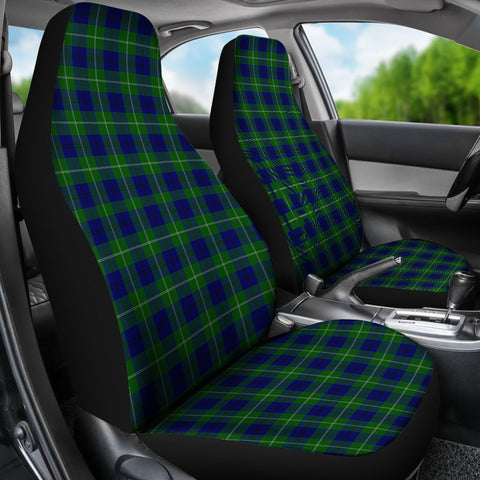 Seat Cover - Tartan Oliphant Modern Car Seat Cover - Universal Fit