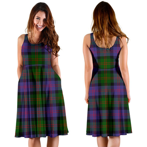 Blair Modern Plaid Women's Dress