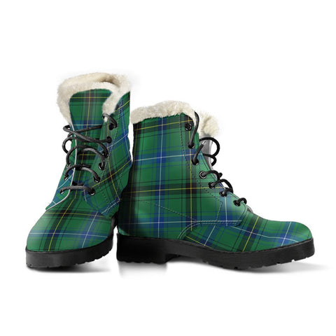 Image of Henderson Ancient Tartan Boots For Women