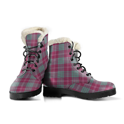 Crawford Ancient Tartan Boots For Women
