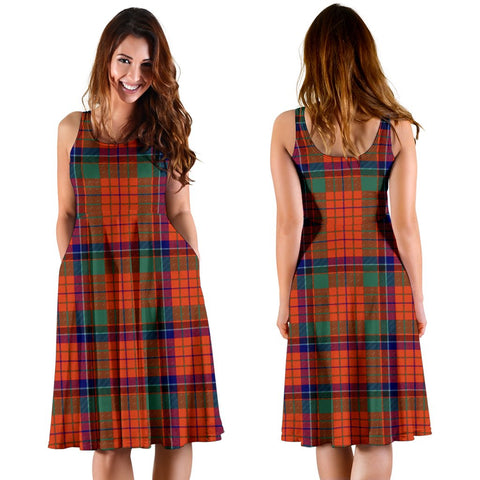 Nicolson Ancient Plaid Women's Dress