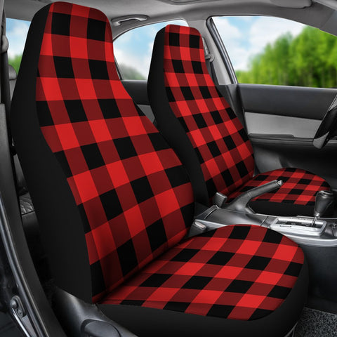 Seat Cover - Tartan Rob Roy Macgregor Modern Car Seat Cover - Universal Fit