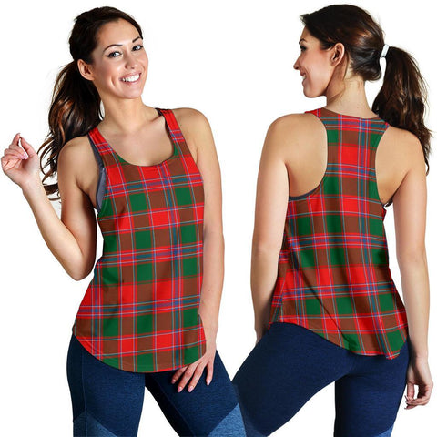 Image of ScottishShop Dalziel Modern Tartan Women Racerback Tank