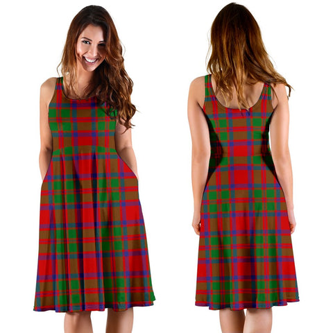 MacKintosh Modern Plaid Women's Dress