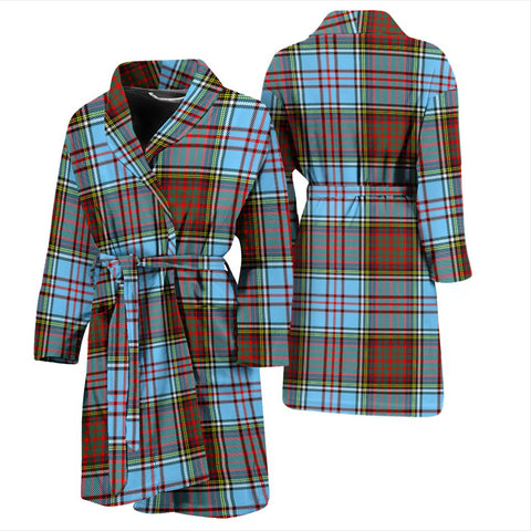 ScottishShop Anderson Ancient Bathrobe | Men Tartan Plaid Bathrobe
