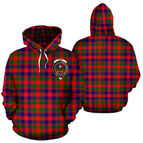 ScottishShop Gow Of Skeoch Tartan Clan Badge Hoodie