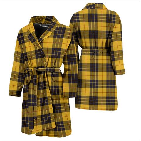 ScottishShop MacLeod Of Lewis Ancient Bathrobe | Men Tartan Plaid Bathrobe