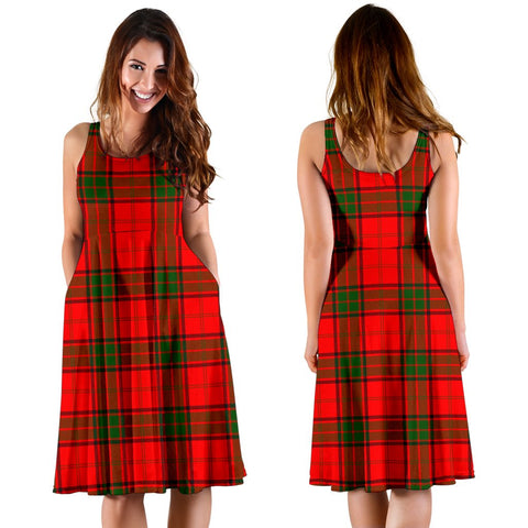 Maxwell Modern Plaid Women's Dress