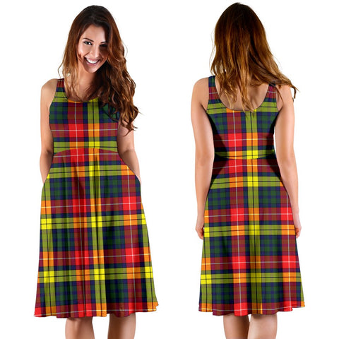 Buchanan Modern Plaid Women's Dress