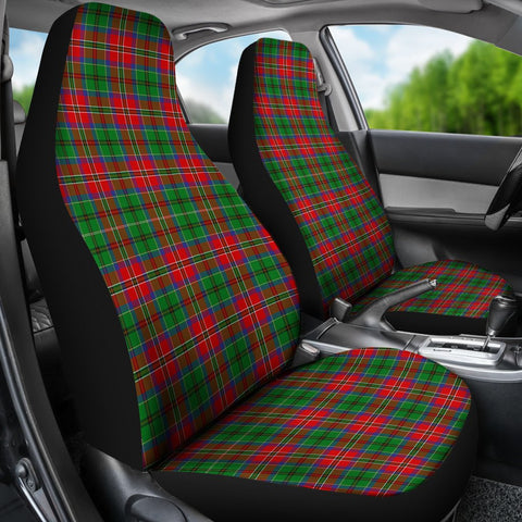 Seat Cover - Tartan Mcculloch Car Seat Cover - Universal Fit