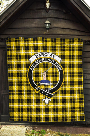 Premium Quilt - Barclay Dress Modern Tartan Quilt - Clan Crest TH8