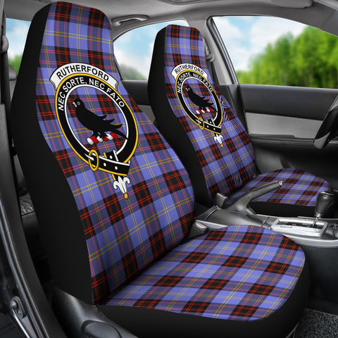 Seat Cover - Tartan Crest Rutherford Car Seat Cover - Universal Fit