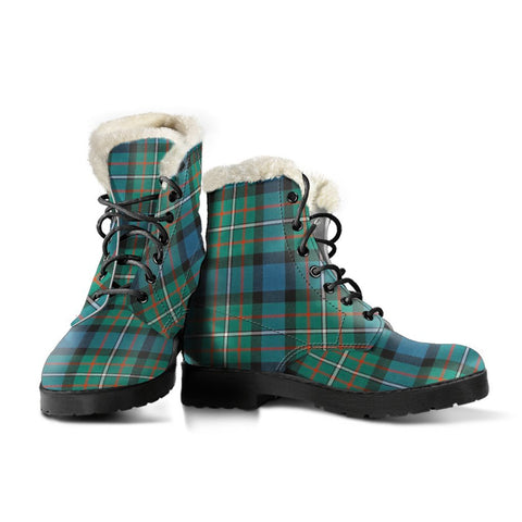 Image of Ferguson Ancient Tartan Boots For Women