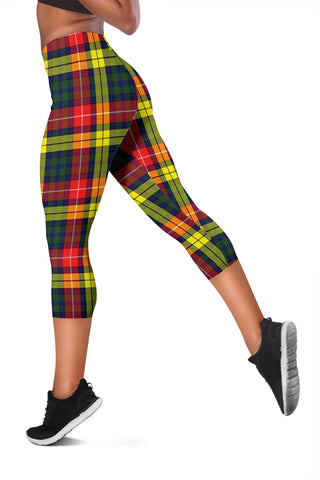 Image of Buchanan Modern Tartan Capris Leggings