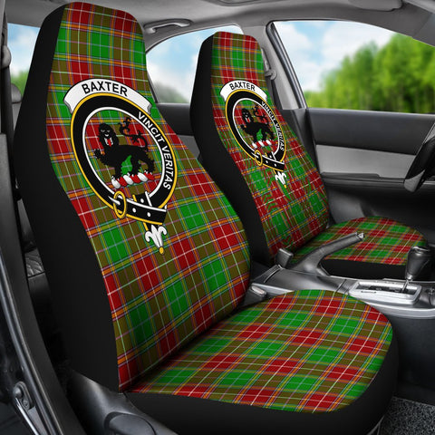 ScottishShop Seat Cover - Tartan Crest Baxter Car Seat Cover Clan Badge - Universal Fit