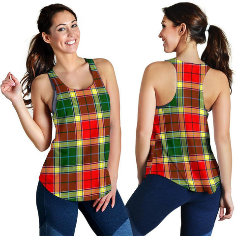 ScottishShop Gibbs Tartan Women Racerback Tank