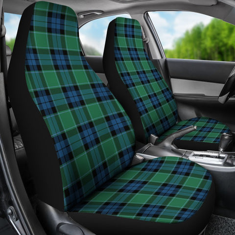 Seat Cover - Tartan Graham Of Menteith Ancient Car Seat Cover - Universal Fit
