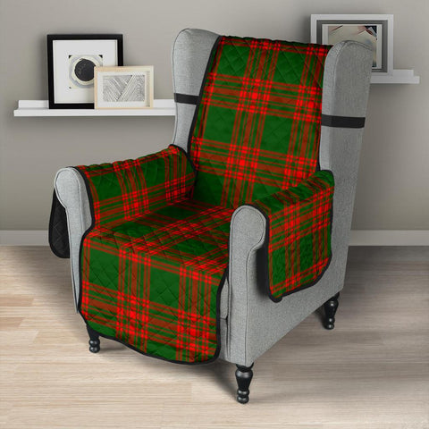Clan Menzies Green Modern  Plaid Sofa Protector - 23 Inches