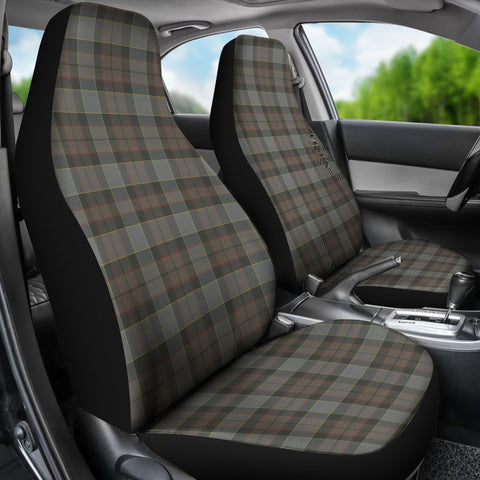 Seat Cover - Tartan Outlander Fraser Car Seat Cover - Universal Fit
