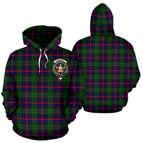 ScottishShop Urquhart Tartan Clan Badge Hoodie