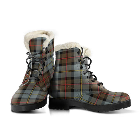 Macleod Of Harris Weathered Tartan Boots For Women