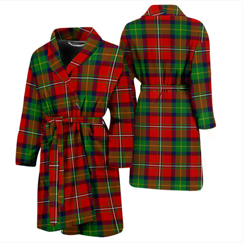 ScottishShop Boyd Modern Bathrobe | Men Tartan Plaid Bathrobe