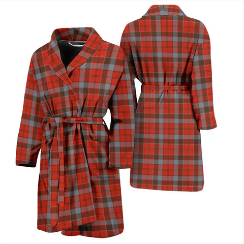 ScottishShop Robertson Weathered Bathrobe | Men Tartan Plaid Bathrobe