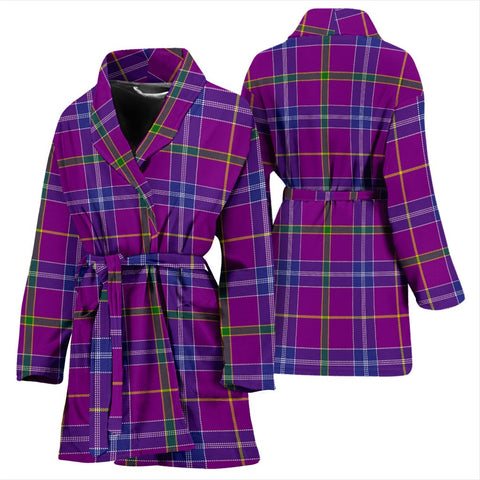 Jackson Bathrobe | Women Tartan Plaid Bathrobe | Universal Fit