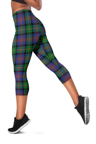 Image of Logan Ancient Tartan Capris Leggings