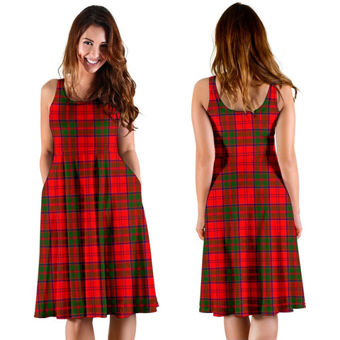 Grant Modern Plaid Women's Dress