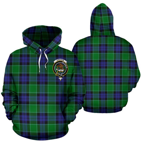 ScottishShop Graham Of Menteith Tartan Clan Badge Hoodie