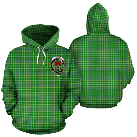 ScottishShop Currie Tartan Clan Badge Hoodie