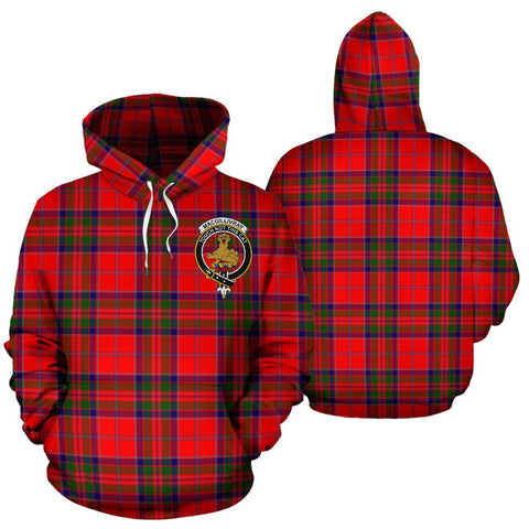 ScottishShop Macgillivray Tartan Clan Badge Hoodie