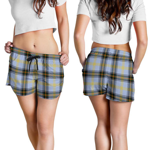 Bell Of The Borders Tartan Shorts For Women