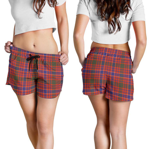 ScottishShop Macrae Ancient Tartan Shorts For Women